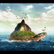 Turtle Island photoshop tutorial