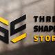 شعار متجر الأشكال الثلاثة