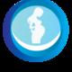 شعار لمركز نساء وتوليد