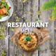 Menu Restaurant