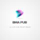 شعار لشركة تواصل و اشهار ( BMA PUB )