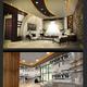 تصميم غرفة ضيوف بالاضافة الى تحويل غرفة في الطابق الارضي الى جم رياضي