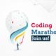 coding marathon poster