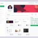 UI/UX Admin Dashboard