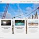 تصميم وتطوير موقع SCAT EGYPT لأعمال البناء