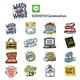 Line App COVID19 Sticker Emojis
