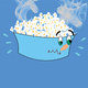 hot popcorn