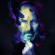 Watercolor Effect Photoshop Tutorial steve jobs