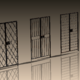 تصميم نماذج ثلاثية الأبعاد للأبواب والنوافذ