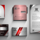 Design professional buiseness card & stationery &envelop