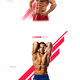 FLEX : one page template for bodybuilding