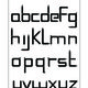 Font Design - Sklide Font