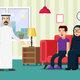 flat design saudi