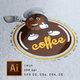 شعار قهوة