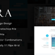 Zara - App Landing Page