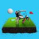 A mini Golf court design.