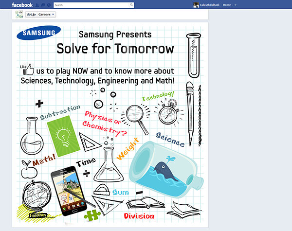 SAMSUNG Solve for Tomorrow App