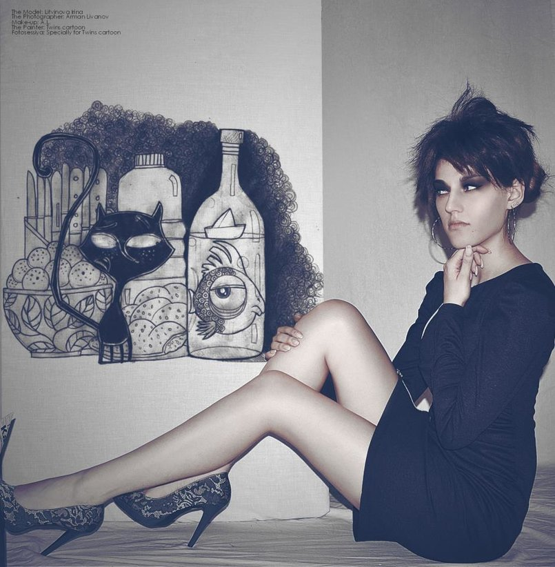 Art work with models
