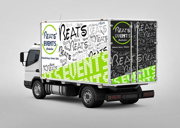 beats evevnts branding