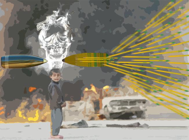 الاطفال ضحايا الحروب