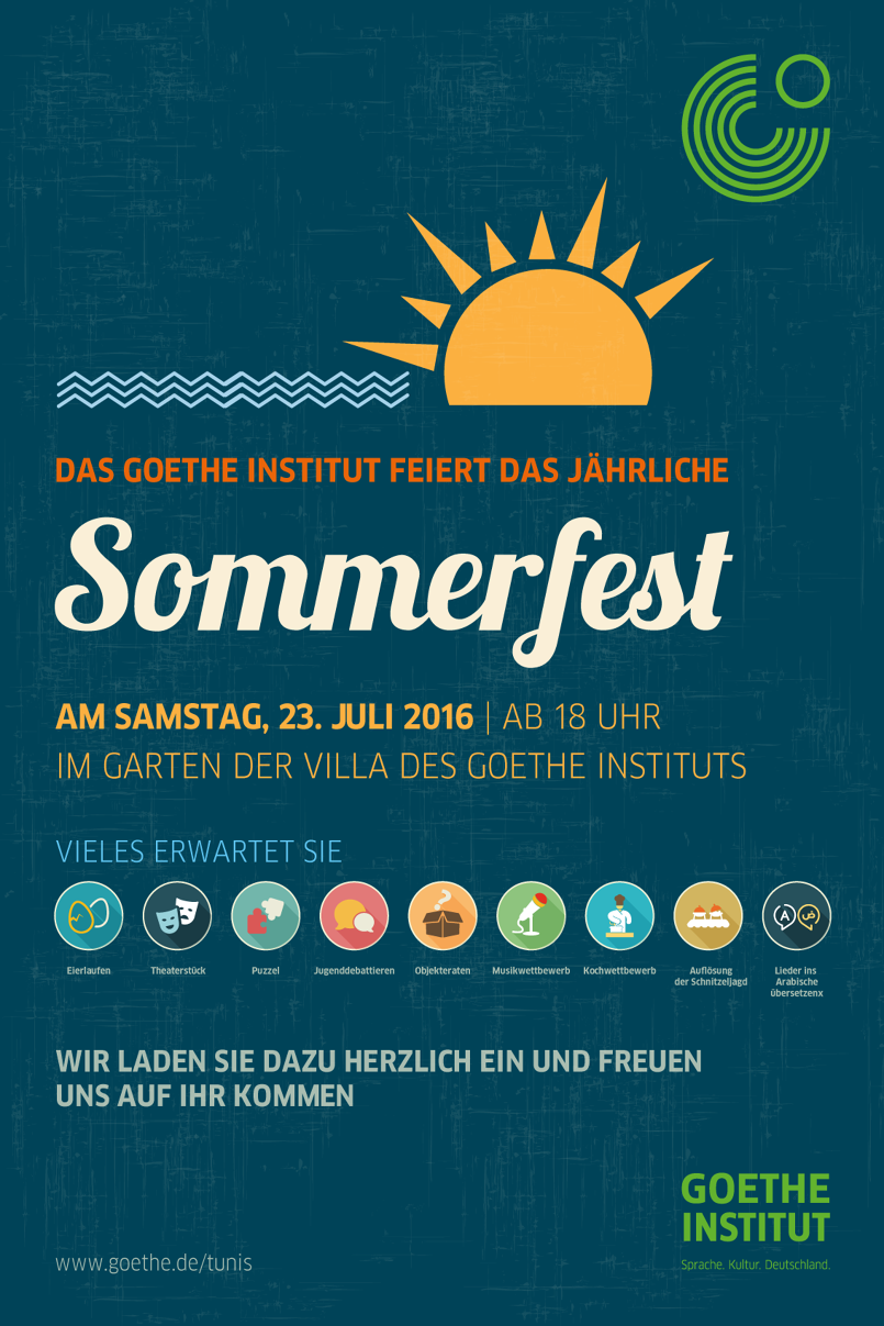 Poster Goethe Institut