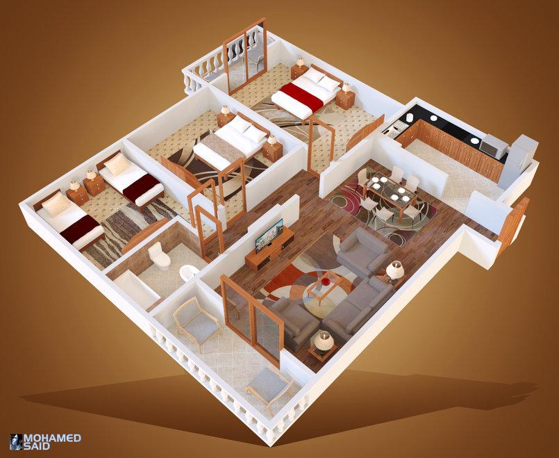 3D Design for Kandil Group
