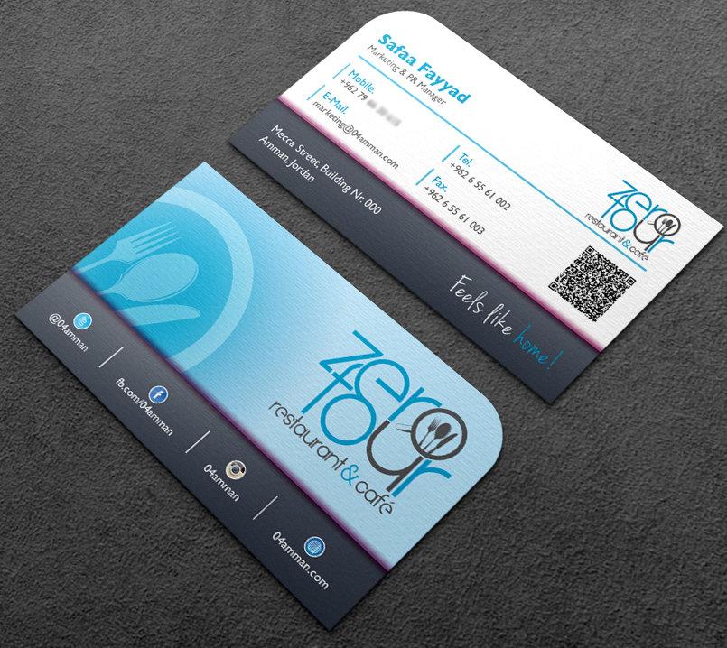 ZeroFour Business Cards