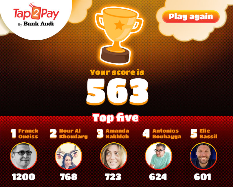 Tap2Pay Facebook Game