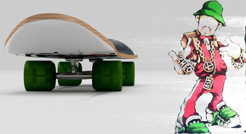 SkateBoard_Front