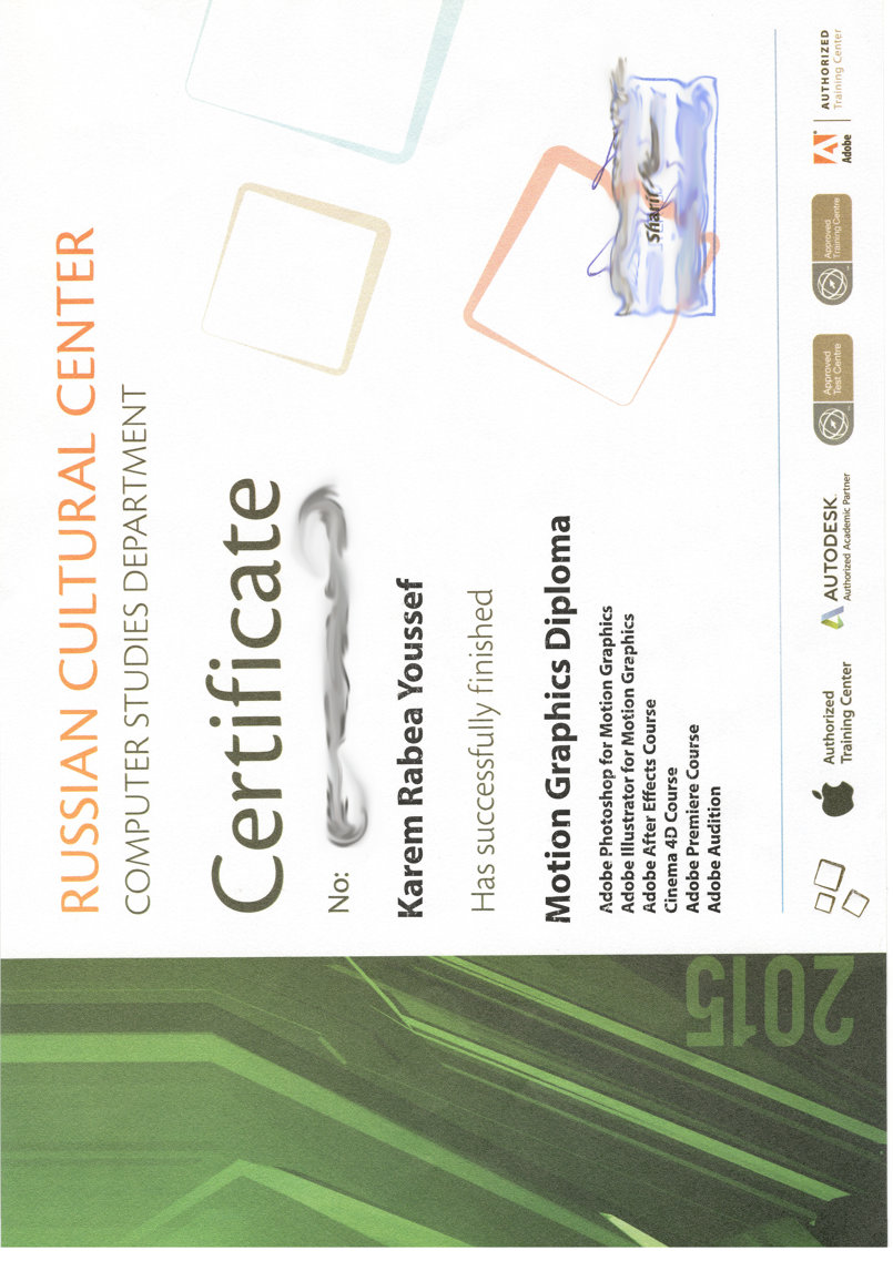 Motion Graphics Diploma