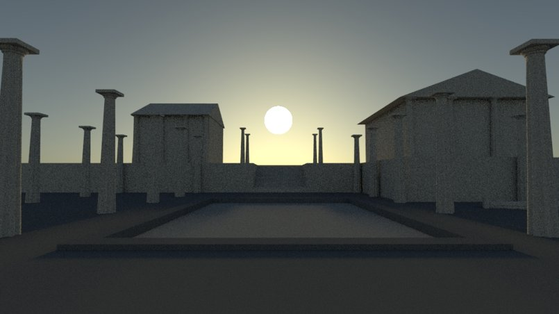 free time practise low poly model light house amp exterior
