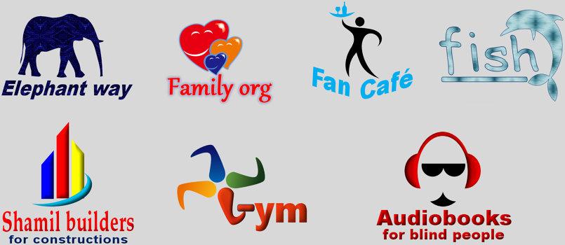 تصميم شعارات مختلفة ( لوجوهات )
