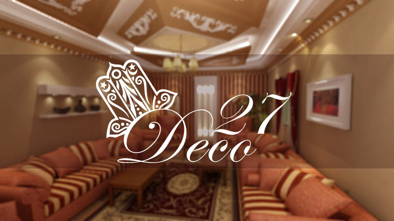 """شعار لشركة '' deco27 """"  الفرنسية"""