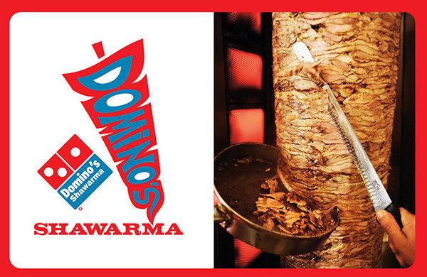 Dominos Shawrma Logo