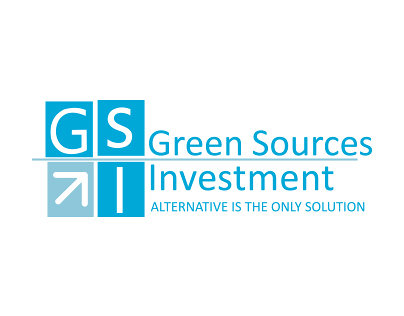 هوية تجارية لشركة المصادر الخضراء