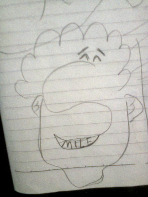رسم وجه من كلمة smile