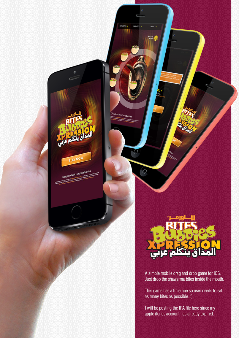 Shawarmer KIOSK + Mobile Game + FB Application
