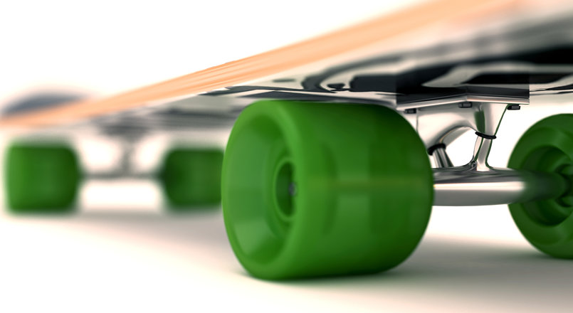 SkateBoard_DOF