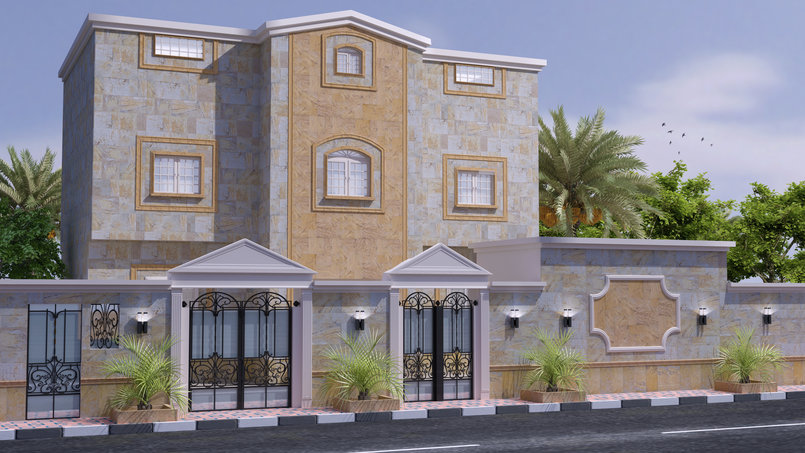 exterior Saudi Arabia