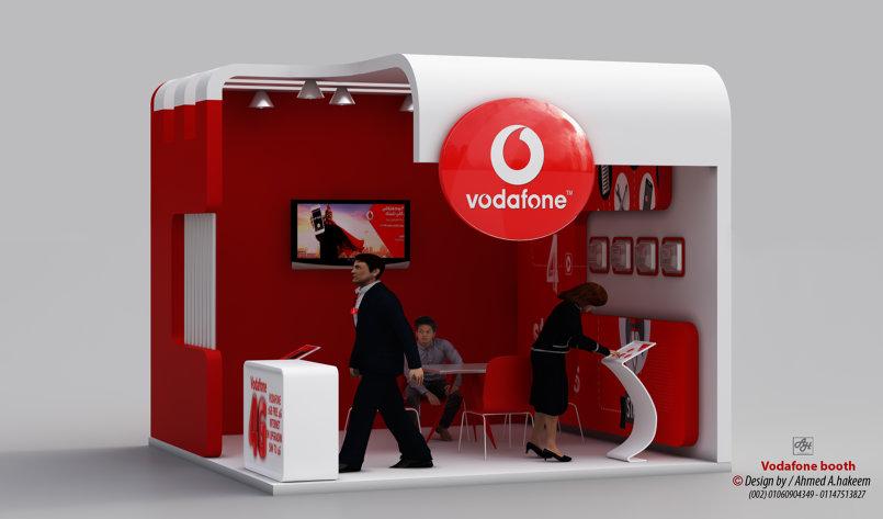 Vodafone Booth