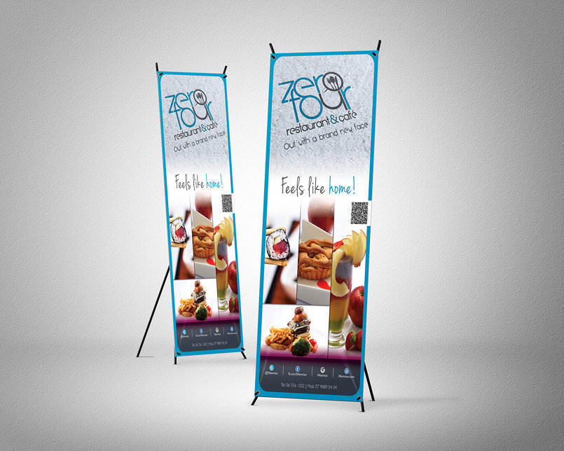 New Branding Launch Roll Up Stand