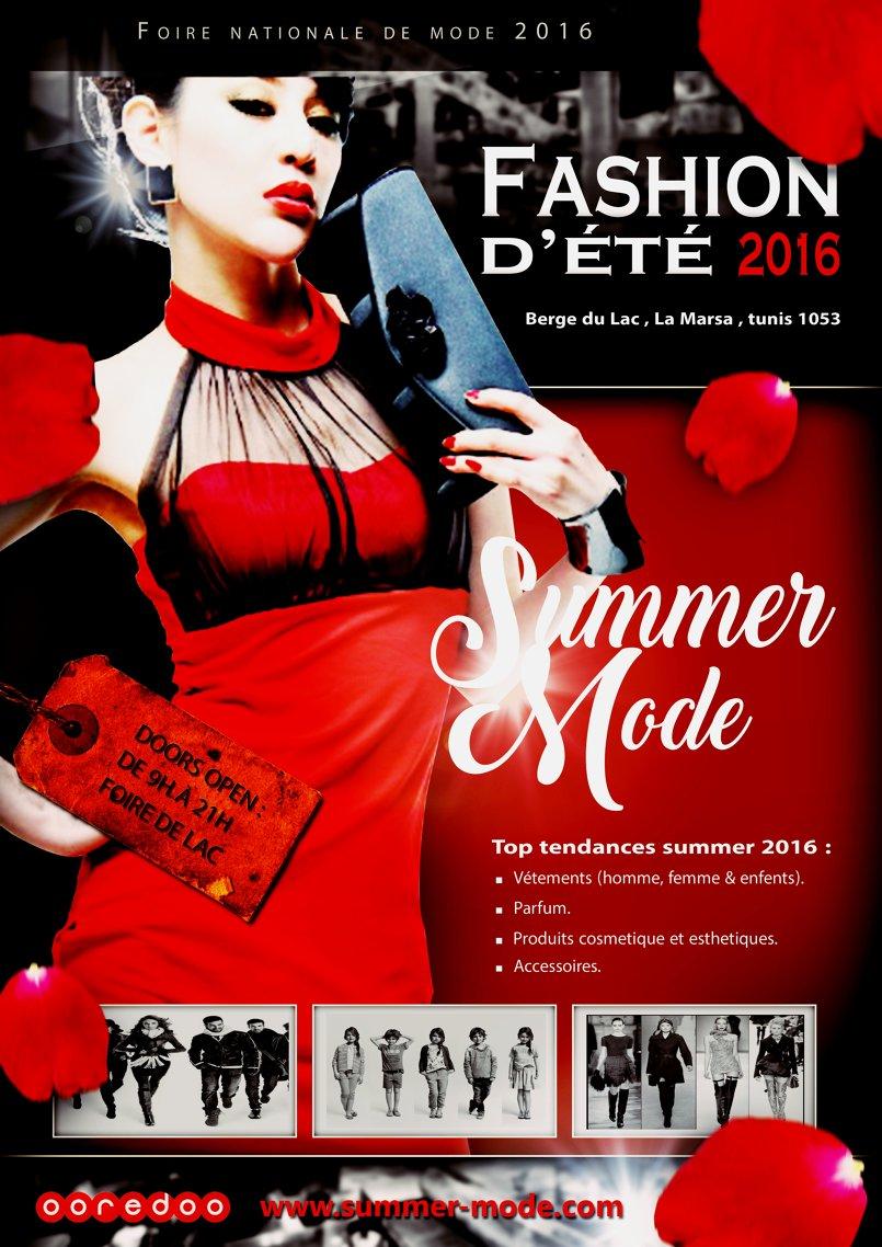 Affiche Fashion 2016