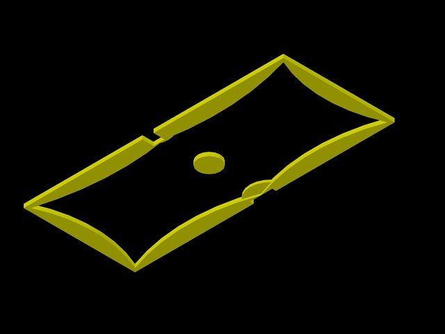 سقف جبسوم بورد اوتوكاد 3d