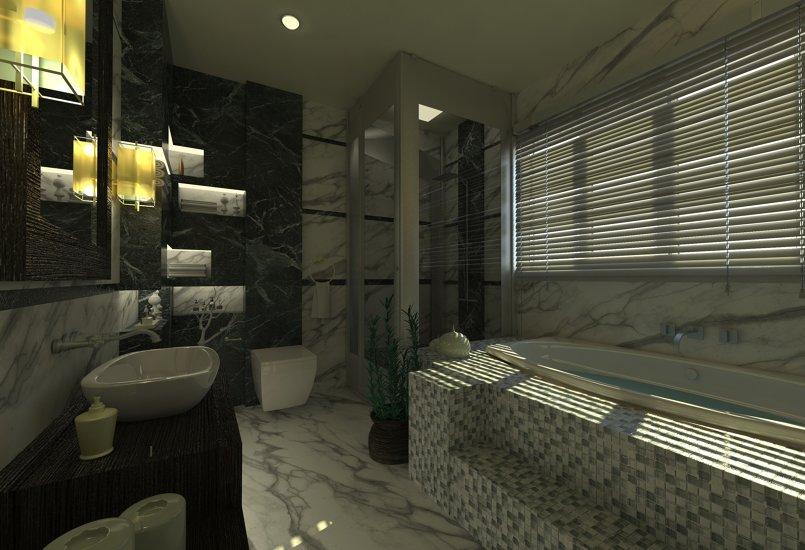 حمام مودرن