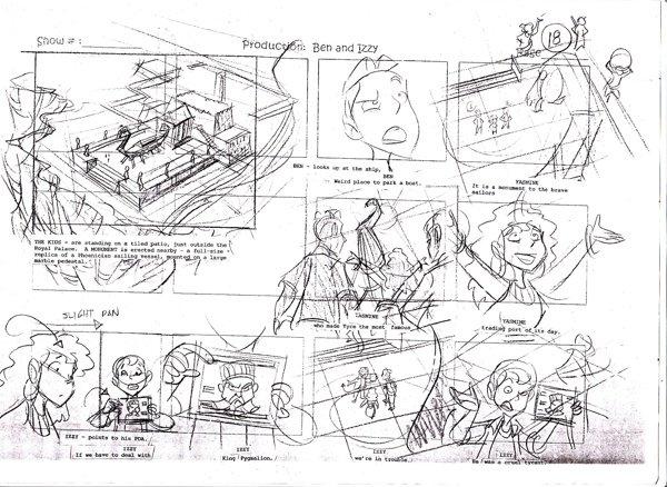 storyboard thumbnail for BEN & IZZY 3D Animated Series/RUBICON/Amman, Jordan,(c)2005