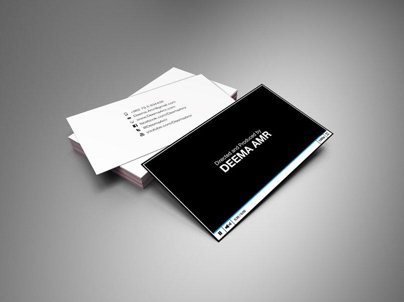 Producer Deema Amr business card