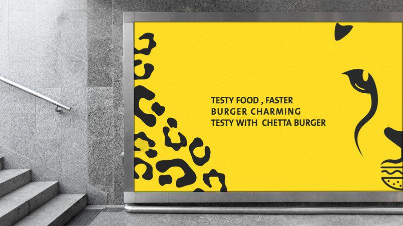 Identity Design Chetta Burger