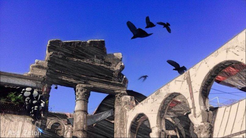 مدخل سوق الحميدية - دمشق