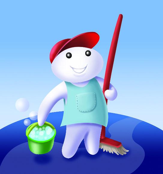 Detergent character design