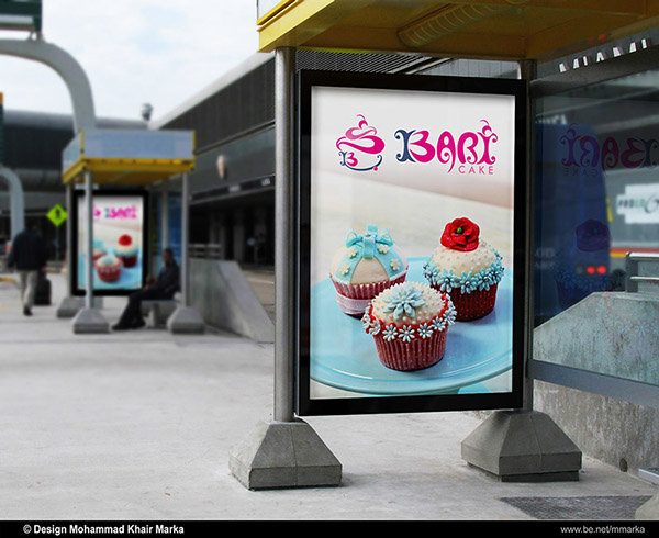 Bari Cake Logo